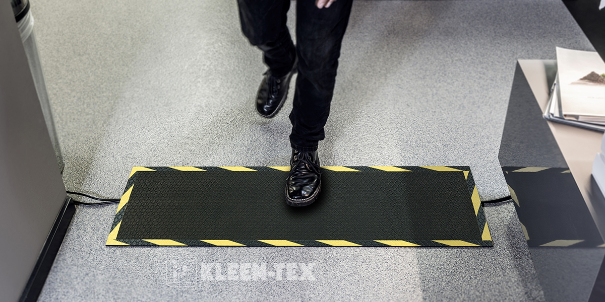 Kleen Tex Mata Kable Mat Rubber Top