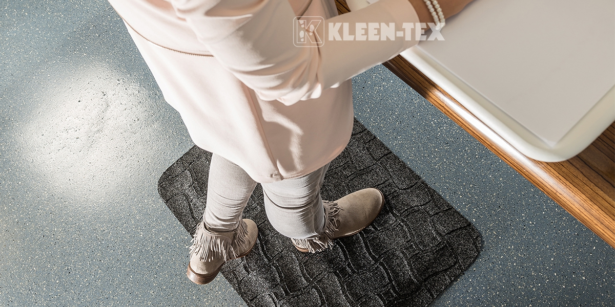 Kleen-Komfort Office workstaion mat