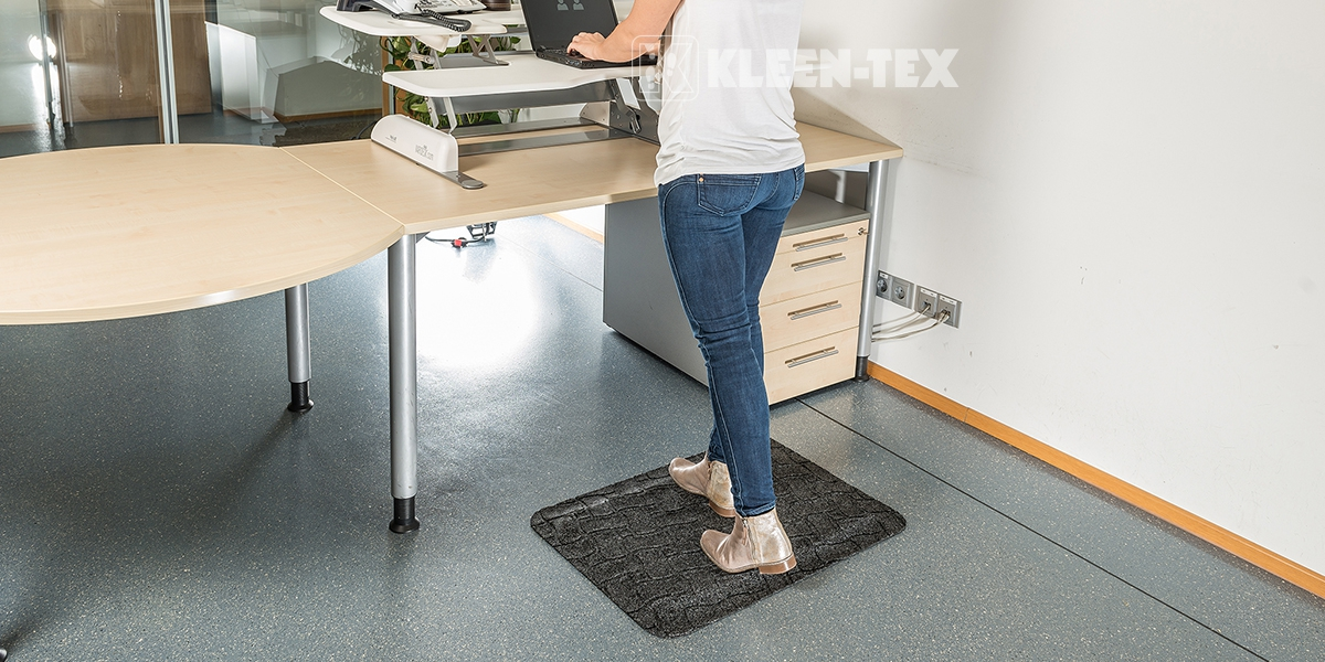 Kleen-Komfort Office mat for workstations
