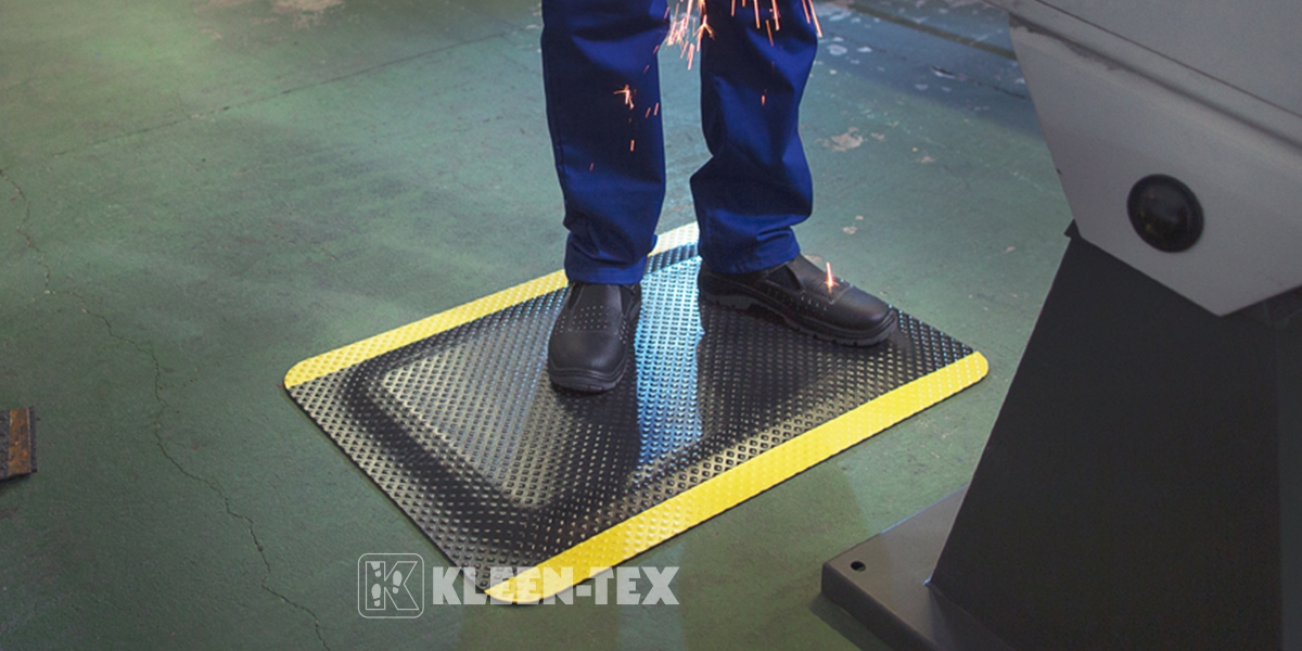 Kleen-Komfort Standard mat for industry and workplace