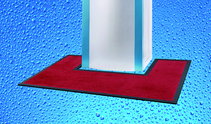 Water-Kooler - red Water-Kooler mat for keeping your office tidy